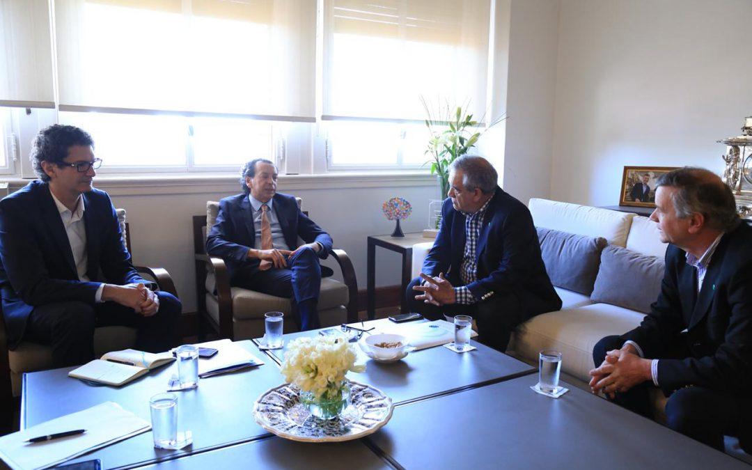 Reunión con el Ministro de la Producción