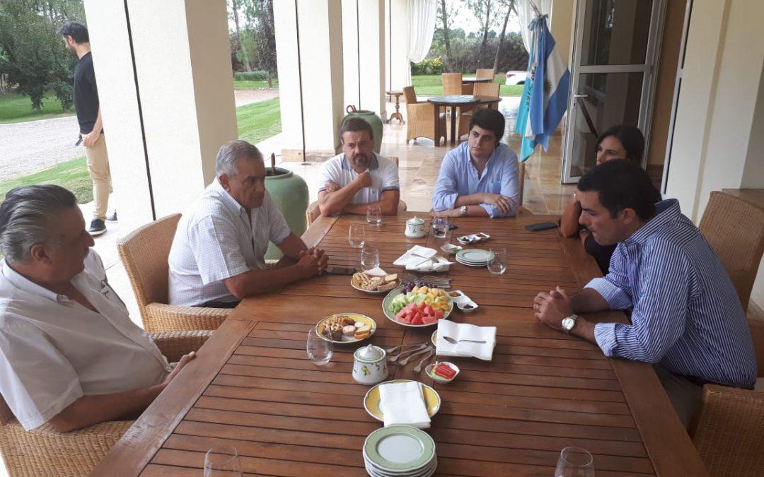 CONINAGRO con el gobernador de Salta