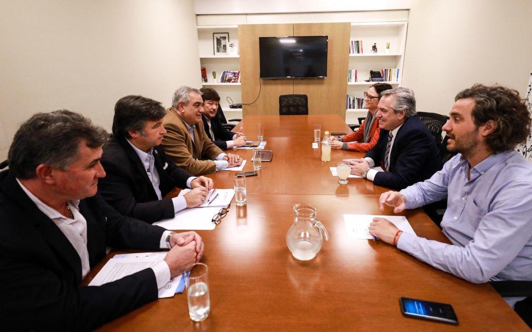 La Mesa de Enlace se reunió con Alberto Fernández