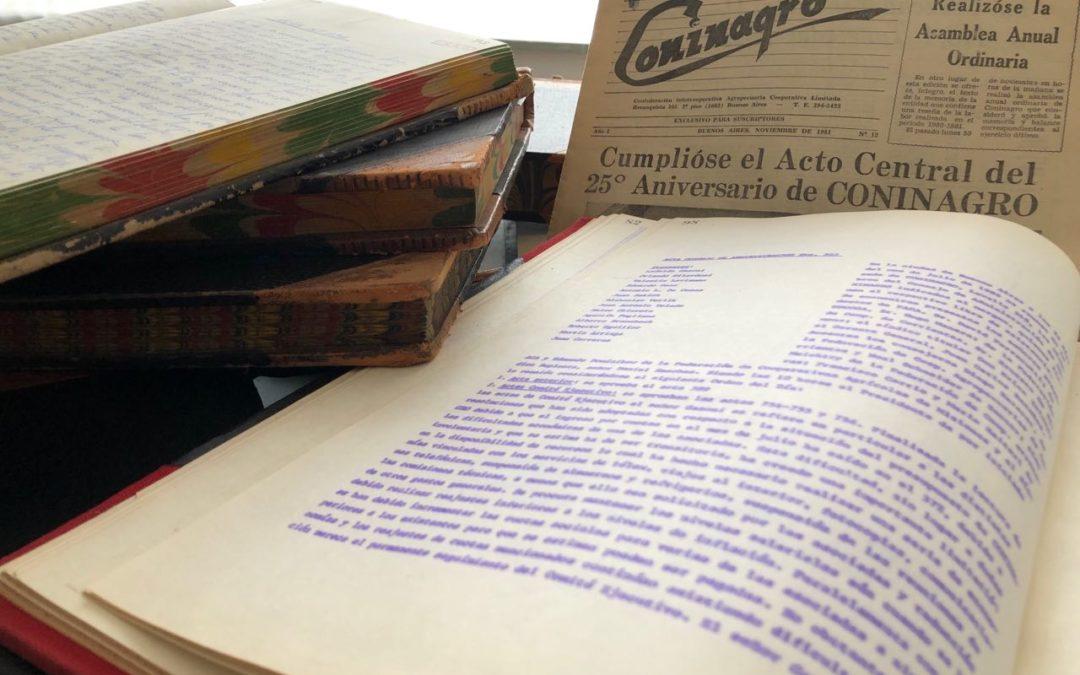 Una becaria del Conicet reconstruirá la historia de Coninagro