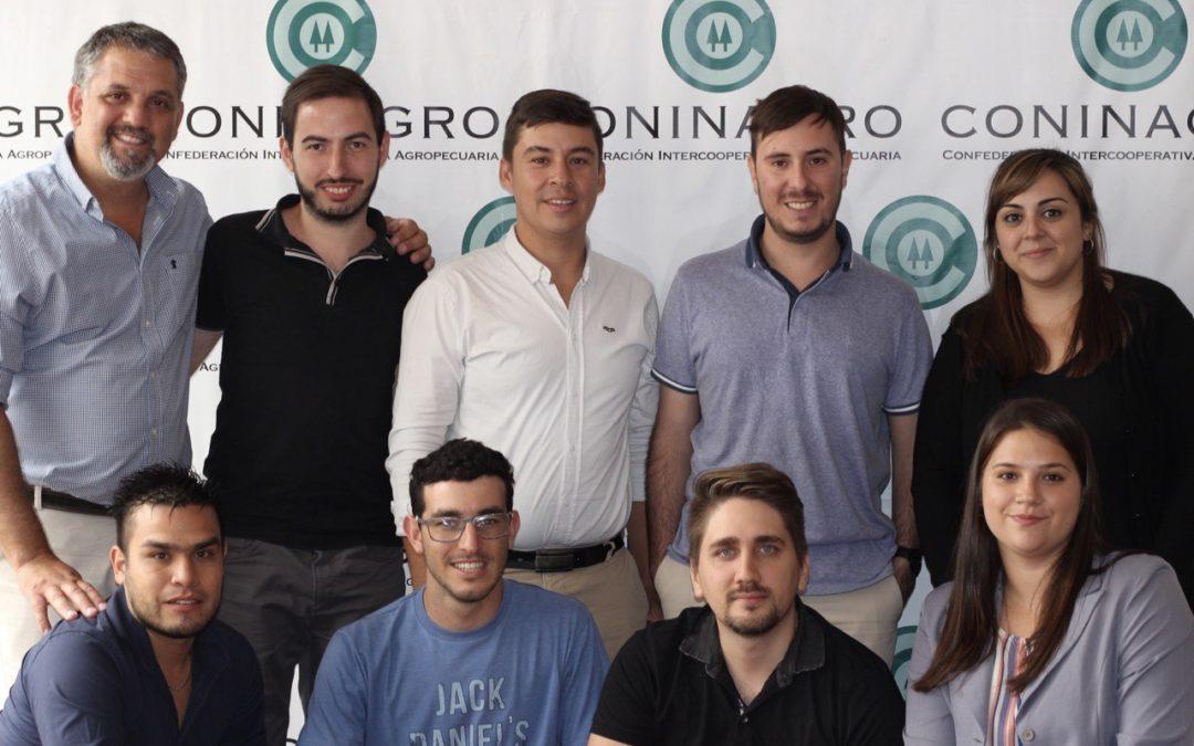 Jóvenes de Coninagro: encuentro con universidad de Río IV e intercambio con cooperativismo de Colombia