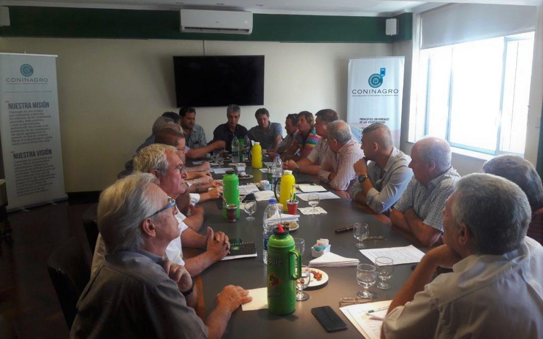Coninagro recibió a productores autoconvocados de distintas regiones del país