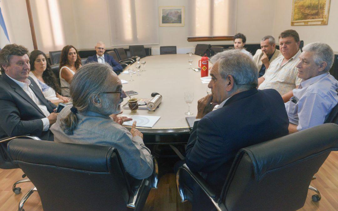 Dirigentes de Coninagro se reunieron con el Ministro Luis Basterra