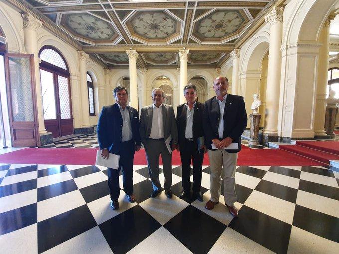 Los presidentes de la Comisión de Enlace disertaron sobre el presente y futuro de la cadena ovinaComunicado Oficial
