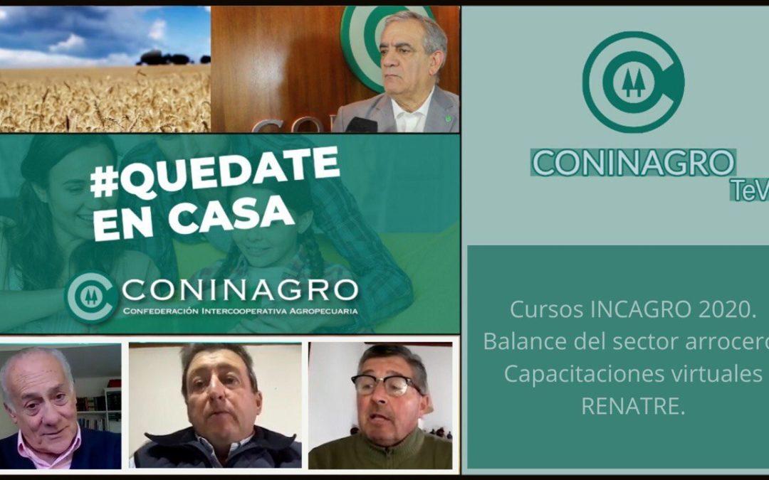 ¡Nuevo programa de Coninagro Tevé!INCAGRO, SECTOR ARROCERO, RENATRE