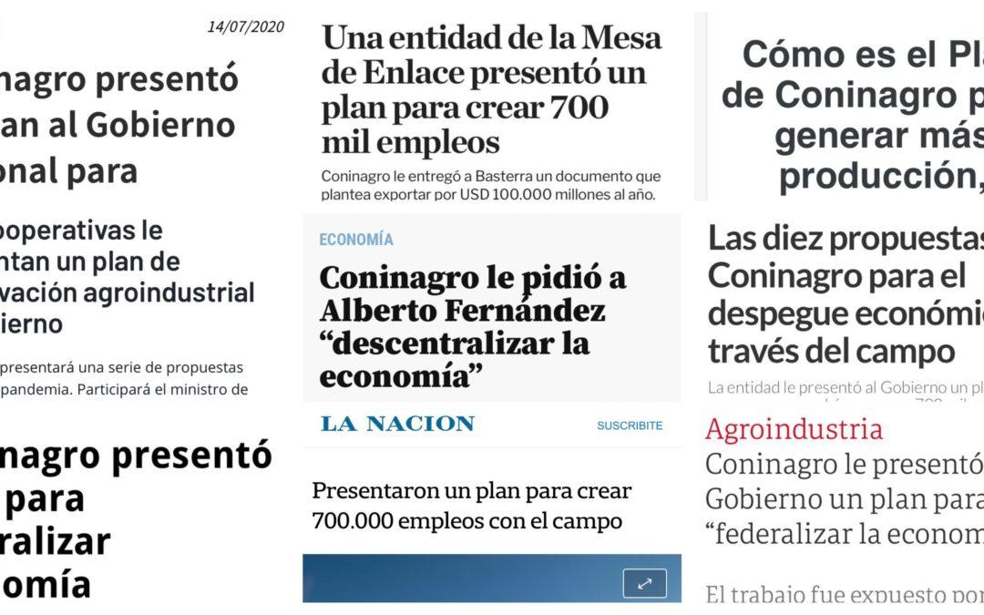 EL PLAN CONINAGRODecálogo de propuestas para la reconstrucción económica y socioproductiva del país