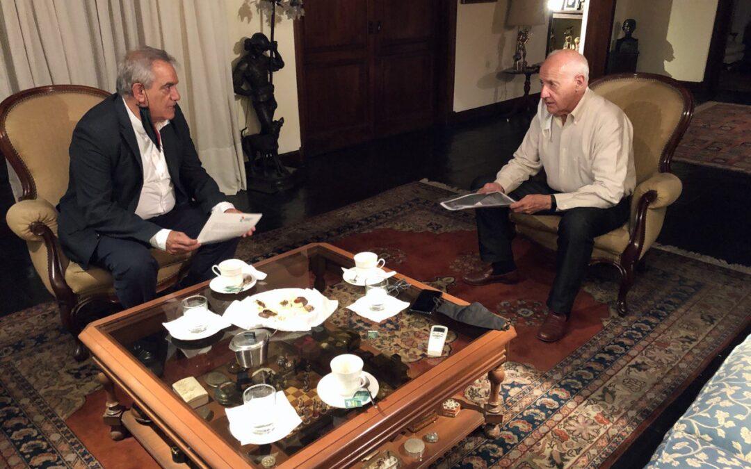 Protegido: BORRADOR: Carlos Iannizzotto se reunió con Roberto Lavagna