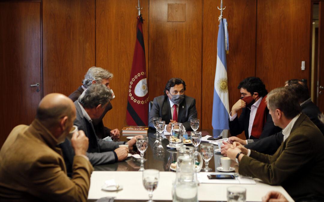Coninagro participó de la reunión con el Gobernador de SaltaJunto a la Comisión de Enlace de Entidades Agropecuarias