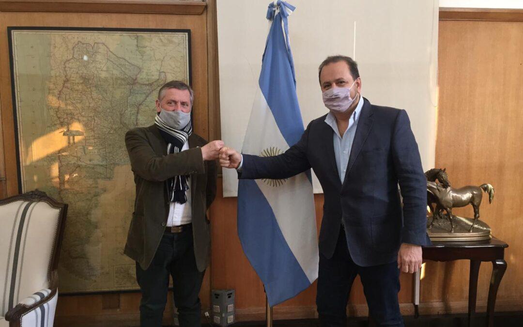 Coninagro compartió agenda de trabajo con el Secretario de Agricultura