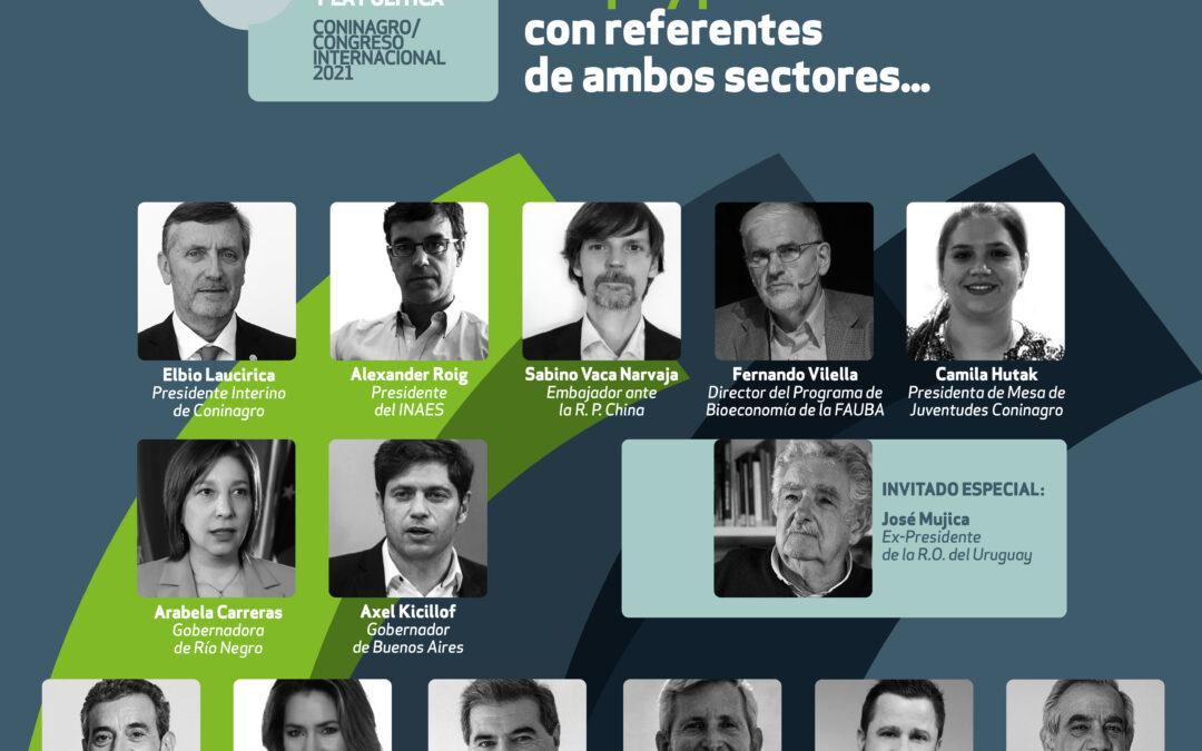 A horas del evento del año de Coninagro: ¿quiénes participarán del Congreso Internacional 2021?
