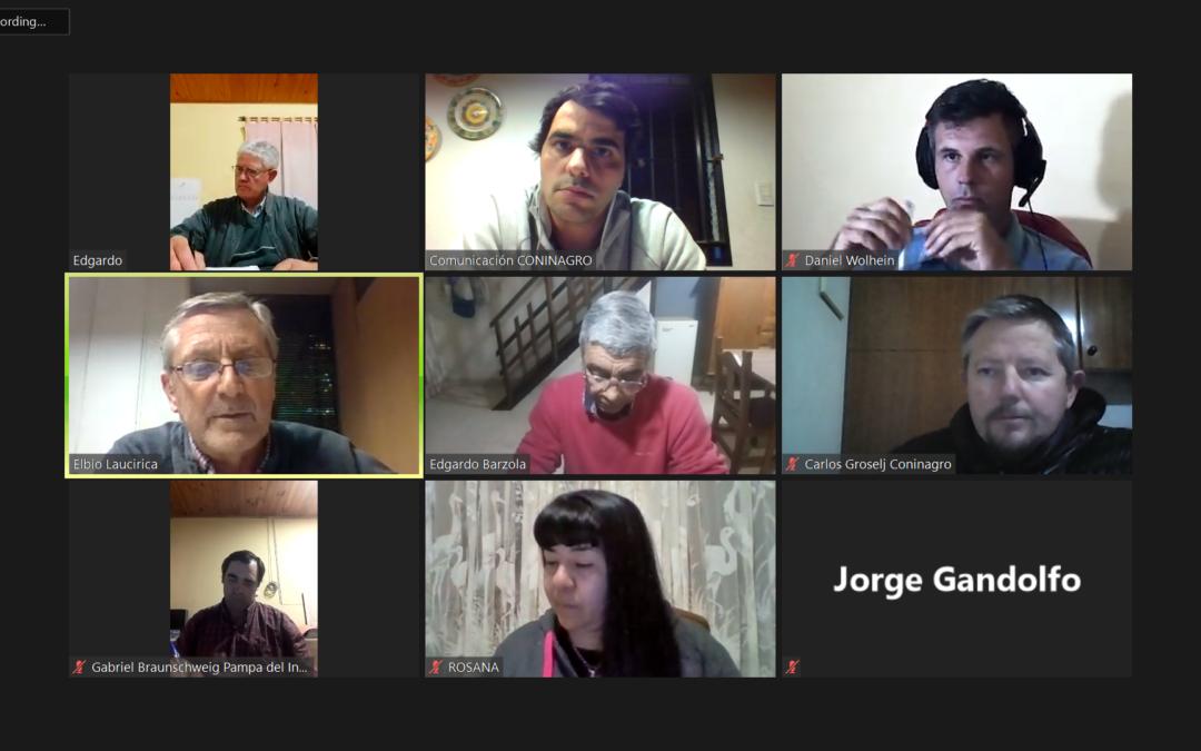 Reunión de coordinación de CARES