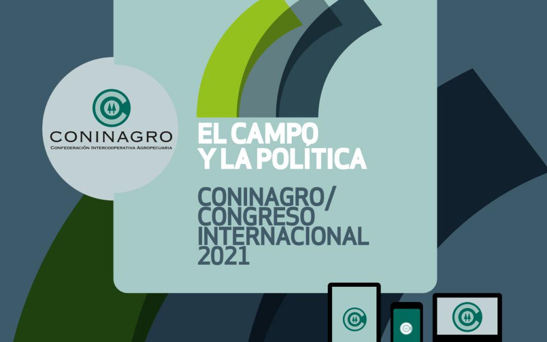 ¡Agendá! El Congreso de Coninagro será el 26 de agosto