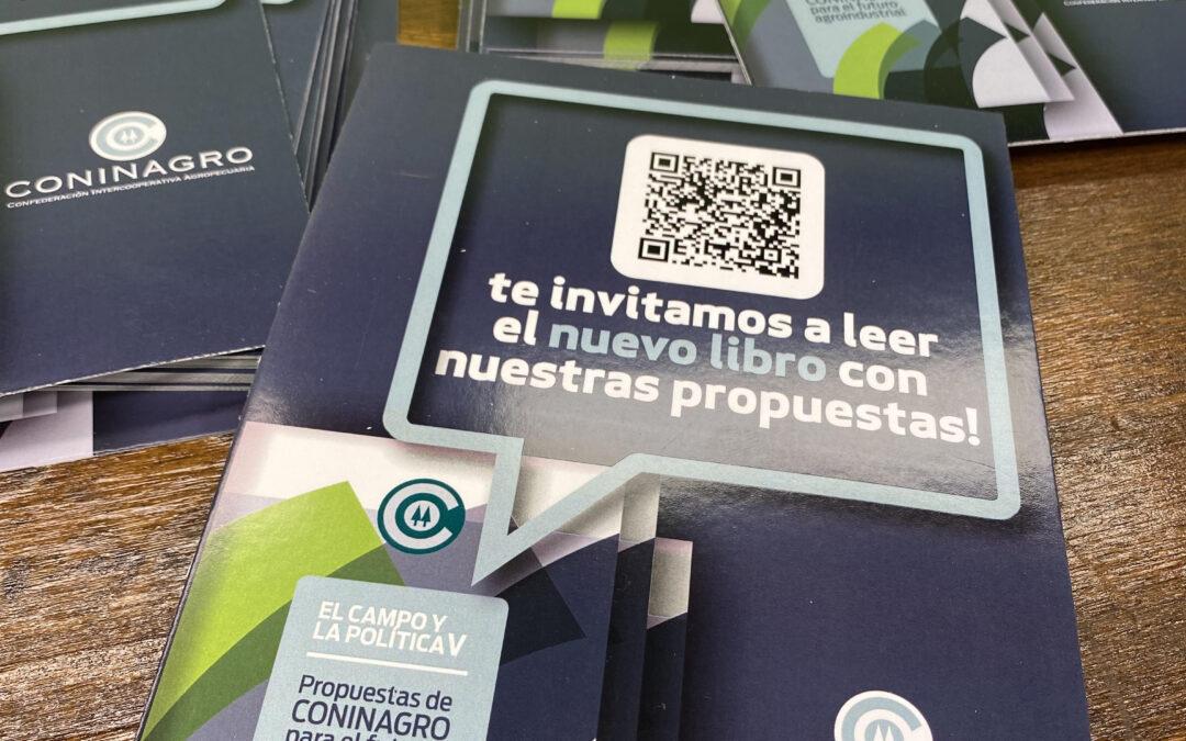 """Ya podés leer """"El Campo y la Política 5"""": no te pierdas el nuevo libro de Coninagro"""