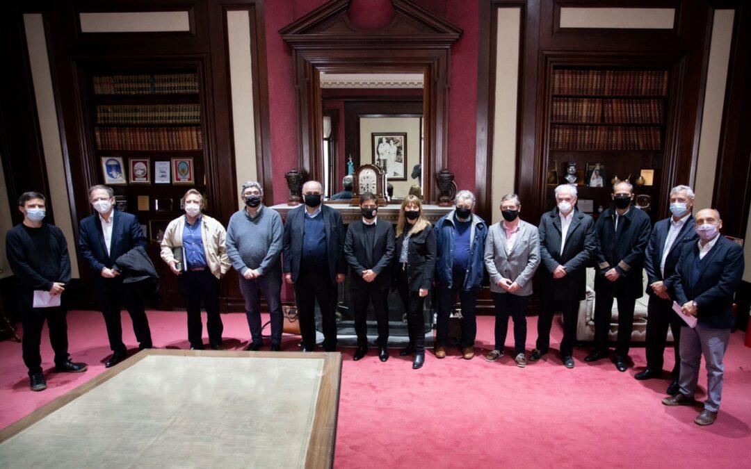 Coninagro asistió a una reunión convocada por el Gobernador Axel Kicillof